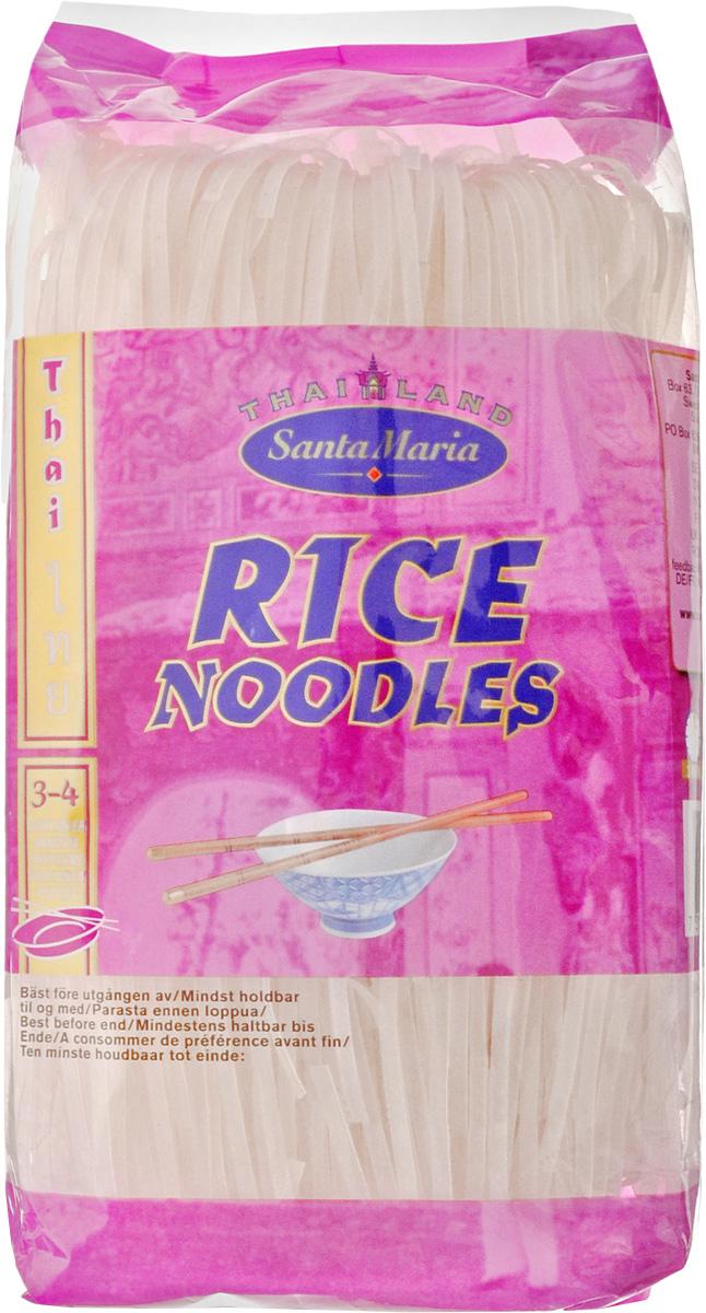 Santa Maria Рисовая вермишель, 250 г3549Вермишель из рисовой муки Santa Maria содержит гораздо меньше крахмала, чем пшеничная. В процессе приготовления лапша белеет, а во время тушения на сковороде с другими компонентами приобретает вкус основного продукта.Рисовая вермишель готовится с овощами, мясом, курицей, креветками, а также входит в состав салатов, супов и горячих блюд.