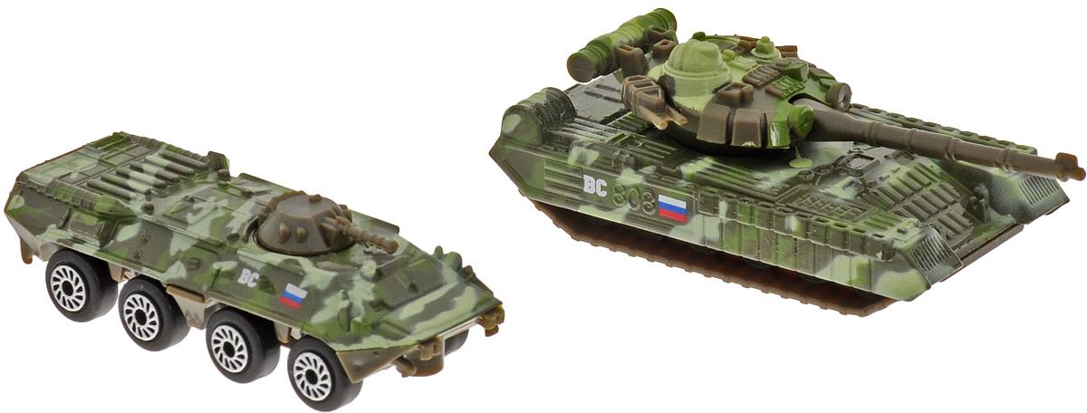 ТехноПарк Набор машинок Военная техника 2 шт SB-15-09-WB