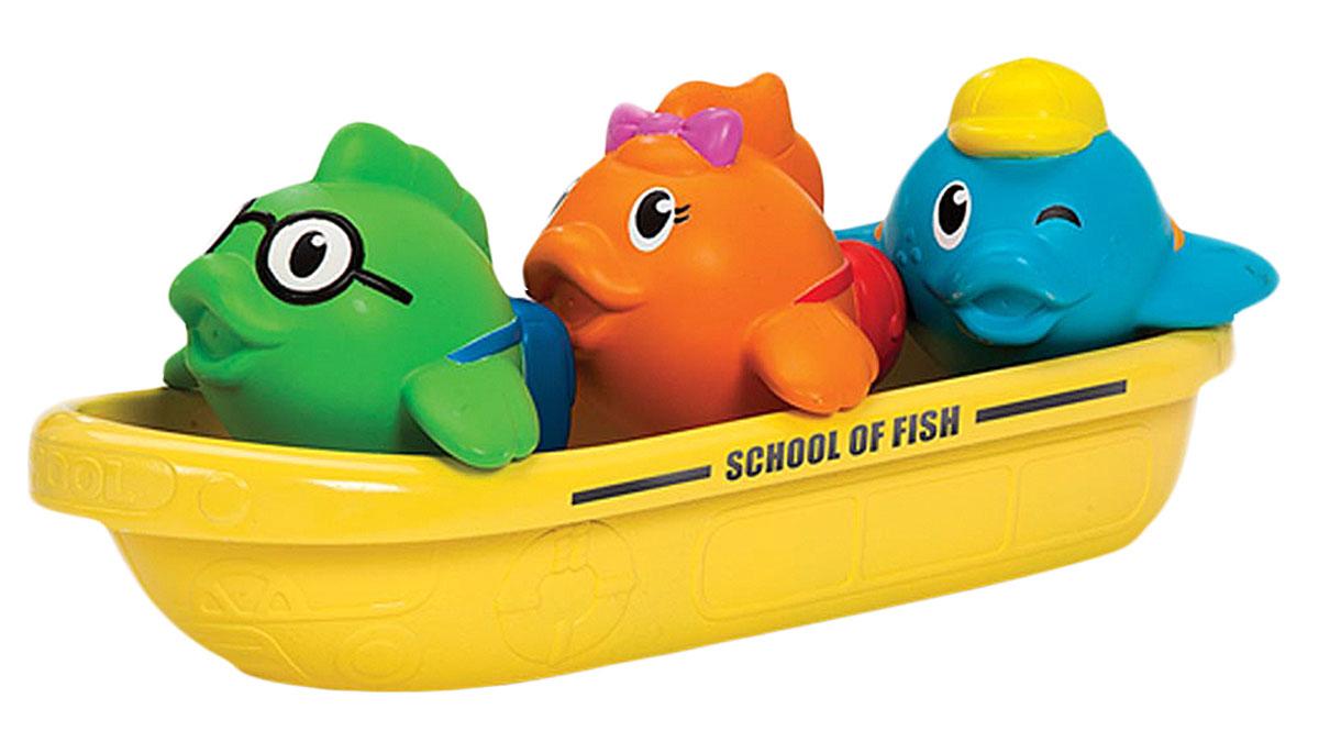 Munchkin Игровой набор для ванной Школа рыбок munchkin игрушка для ванной змейка