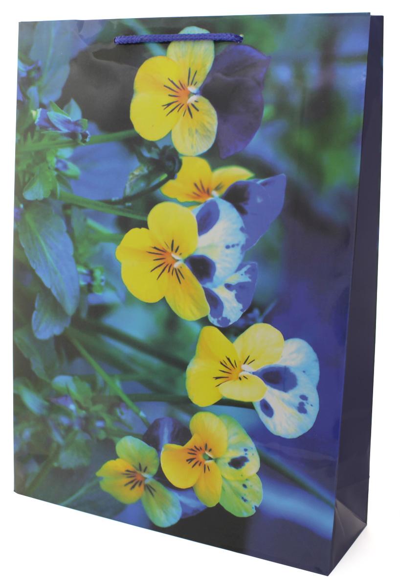 Пакет подарочный МегаМАГ Цветы, 32,4 х 44,5 х 10,2 см. 5044 XL5044 XLПодарочный пакет МегаМАГ, изготовленный из плотной ламинированной бумаги, станет незаменимым дополнением к выбранному подарку. Для удобной переноски на пакете имеются ручки-шнурки.Подарок, преподнесенный в оригинальной упаковке, всегда будет самым эффектным и запоминающимся. Окружите близких людей вниманием и заботой, вручив презент в нарядном, праздничном оформлении.