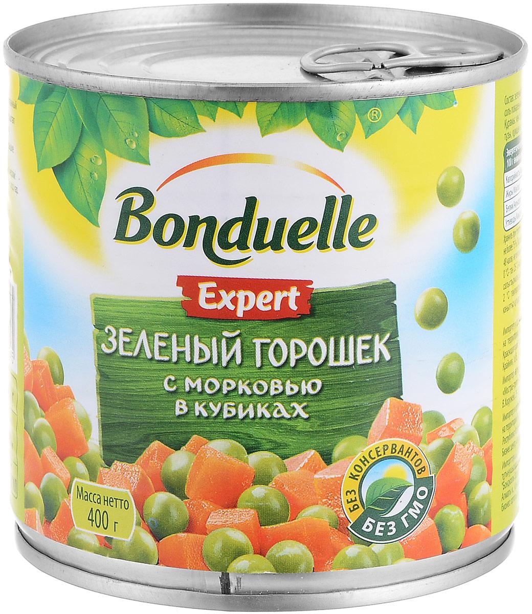 Bonduelle зеленый горошек с морковью в кубиках, 400 г националь киноа 450 г