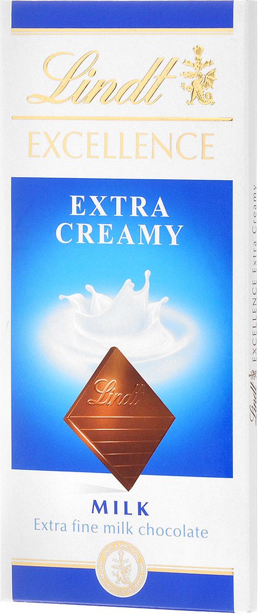 Lindt Excellence молочный шоколад, 100 г lindt excellence малина темный шоколад 100 г