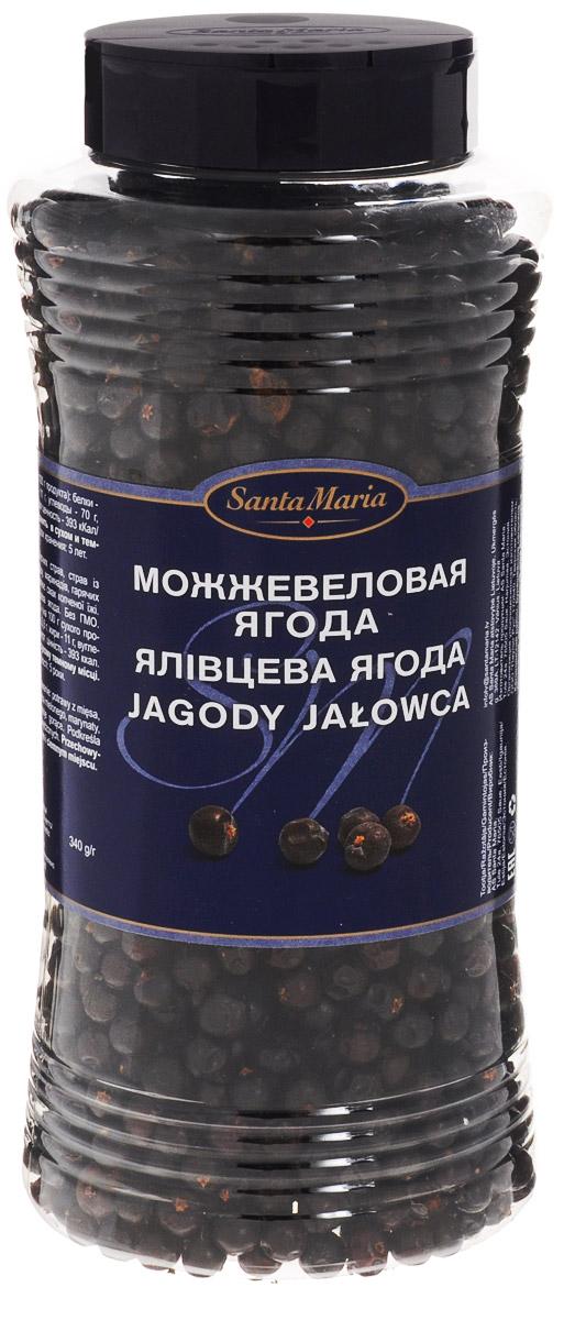 Santa Maria Можжевеловая ягода, 340 г15160Можжевеловая ягода Santa Maria используется для приготовления мясных блюд, блюд из дичи и фарша, маринадов, горячих напитков.Усиливает вкус копченой пищи. Добавляется при консервировании.