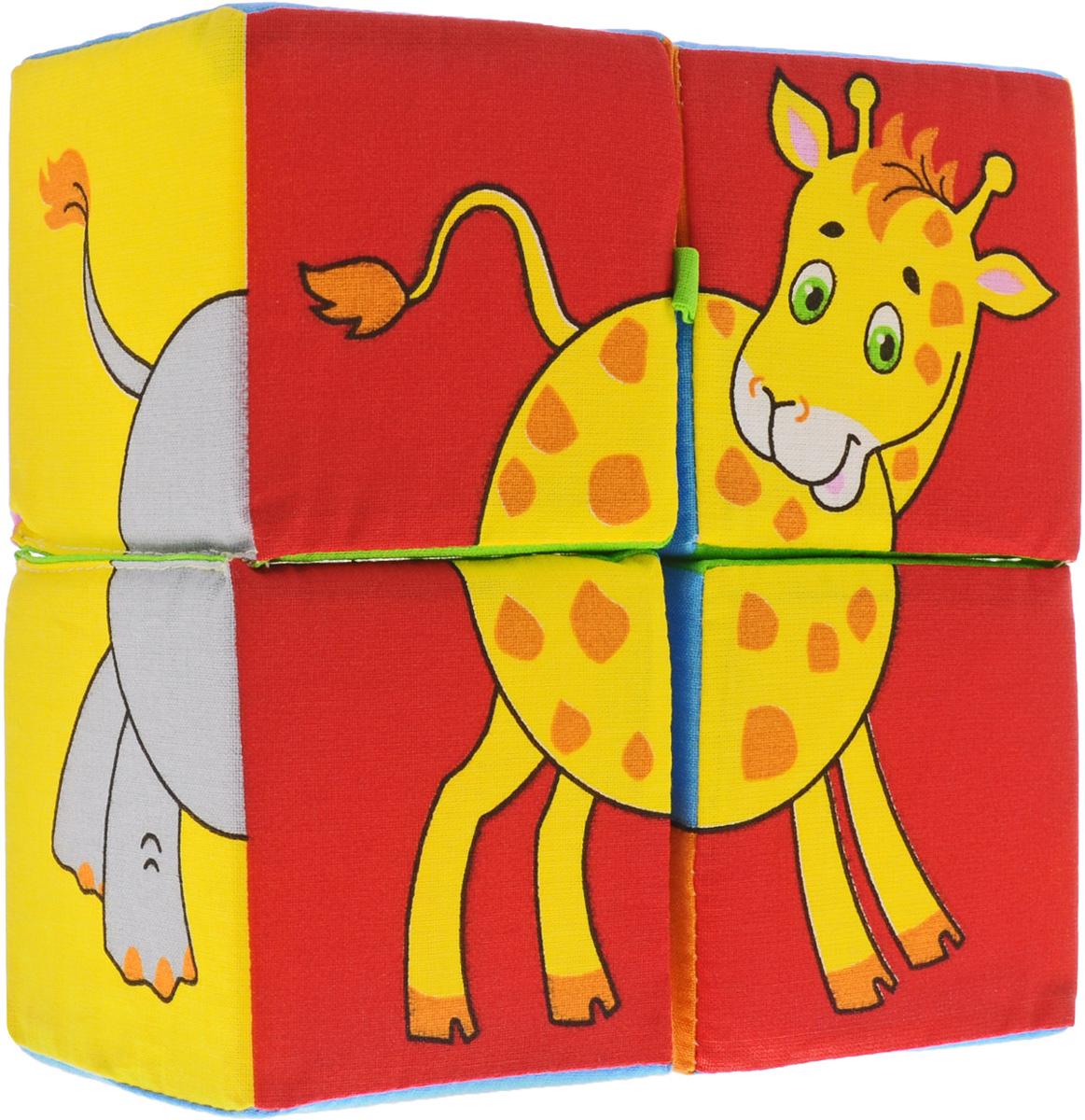 Мякиши Кубики Собери картинку Животные Африки кубики мякиши животные 2 236