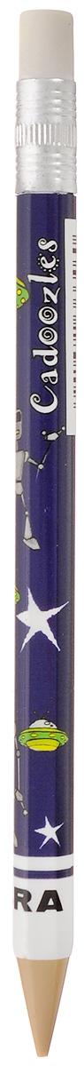 Zebra Карандаш чернографитный Fun цвет корпуса темно-фиолетовый829044_темно фиолетовыйЧернографитный карандаш Zebra Fun идеален для письма и черчения.Корпус карандаша дополнен ластиком. Мягкое комфортное письмо и тонкие линии при написании принесут вам максимум удовольствия. Компактный размер карандаша идеально подходит для маленьких детских рук. Яркая оригинальная расцветка выделит карандаш среди других канцелярских предметов на столе вашего ребенка.