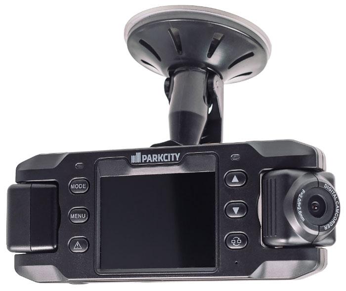 ParkCity DVR HD 495, Black видеорегистраторDVR HD 495ParkCity DVR HD 495 – это портативный автомобильный видеорегистратор с двумя поворотными камерами. Широкоугольные объективы обеих камер помогут зафиксировать все важные дорожные события, а угол поворота в 180 градусов без труда позволит сделать запись общения с инспектором. Оснащен встроенным датчиком удара и поддерживает парольную защиту, обеспечивающую конфиденциальность ваших видеозаписей.