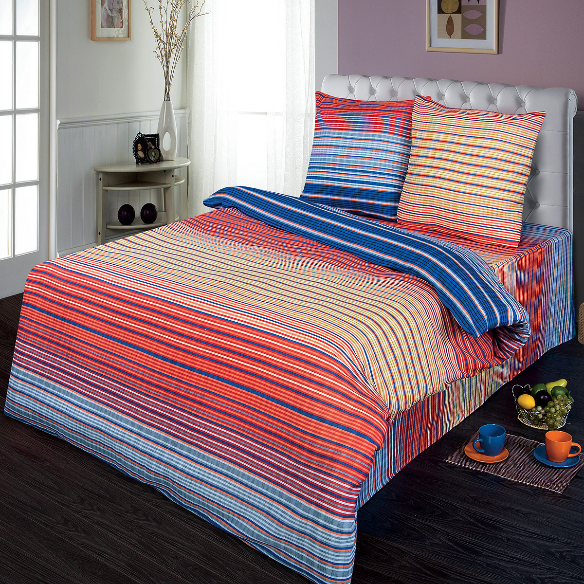 Комплект белья Шоколад Кавалер, 2-спальный, наволочки 70x70. Б104Б104Комплект постельного белья Шоколад Кавалер является экологически безопасным для всей семьи, так как выполнен из натурального хлопка. Комплект состоит из пододеяльника, простыни и двух наволочек. Постельное белье оформлено оригинальным рисунком и имеет изысканный внешний вид.Бязь - это ткань полотняного переплетения, изготовленная из экологически чистого и натурального 100% хлопка. Она прочная, мягкая, обладает низкой сминаемостью, легко стирается и хорошо гладится. Бязь прекрасно пропускает воздух и за ней легко ухаживать. При соблюдении рекомендуемых условий стирки, сушки и глажения ткань имеет усадку по ГОСТу, сохранятся яркость текстильных рисунков. Приобретая комплект постельного белья Шоколад Кавалер, вы можете быть уверены в том, что покупка доставит вам и вашим близким удовольствие иподарит максимальный комфорт.