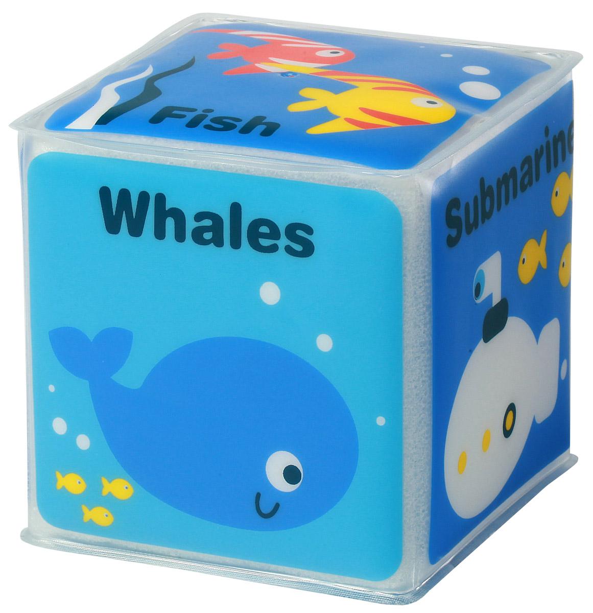 BabyOno Игрушка-кубик Морские животные babyono книжка игрушка камера