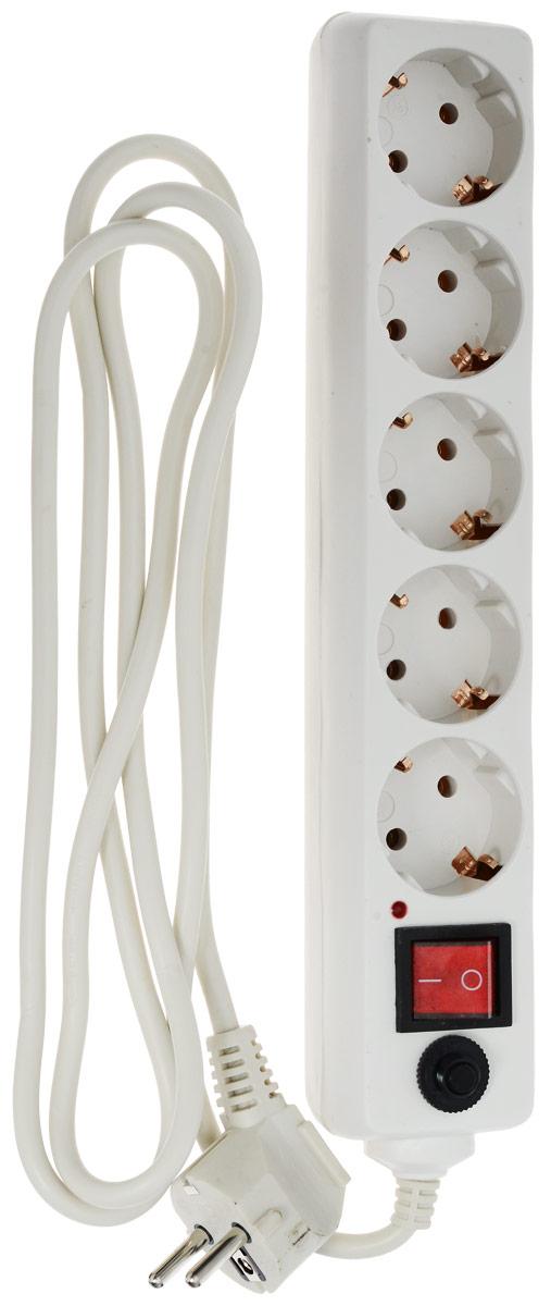 Buro 500SH-1.8, White сетевой фильтр (5 розеток)500SH-1.8-WСетевой фильтр Buro 500SH-1.8-W предназначен для широкого спектра бытовых приборов и электронной техники. Он идеально подойдет для защиты домашнего или офисного компьютера вместе с периферийным оборудованием от высокочастотных помех и короткого замыкания.