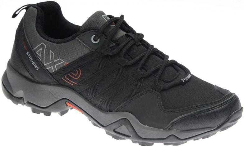 Кроссовки мужские Strobbs, цвет: чeрный. C2283-3. Размер 42C2283-3Стильные мужские кроссовки Strobbs отлично подойдут для активного отдыха и повседневной носки. Верх модели выполнен из текстиля и искусственной кожи. Удобная шнуровка надежно фиксирует модель на стопе. Толстая, протекторная подошва позволяет комфортно ощущать себя на каменистой поверхности. Промежуточный слой подошвы выполнен из ЭВА-материала, что позволяет снизить вес обуви.