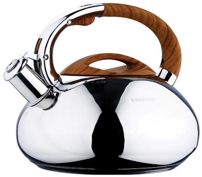 Чайник металлический Wellberg со свистком, 3 л. 5859 WB