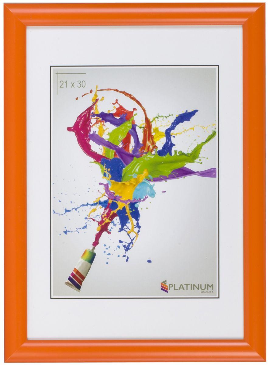 Фоторамка Platinum Милан, цвет: оранжевый, 30 х 45 смPlatinum JW110-1 МИЛАН-ОРАНЖЕВЫЙ 30x45Фоторамка Platinum выполнена в классическом стиле из пластика и стекла,защищающего фотографию. Оборотная сторона рамки оснащенаспециальной ножкой, благодаря которой ее можно поставить на стол или любоедругое место в доме или офисе. Также изделие дополнено двумя специальнымипетлями для подвешивания на стену. Такая фоторамка поможет вам оригинально и стильно дополнить интерьерпомещения, а также позволит сохранить память о дорогих вам людях иинтересных событиях вашей жизни.Размер фотографии: 30 х 45 см.