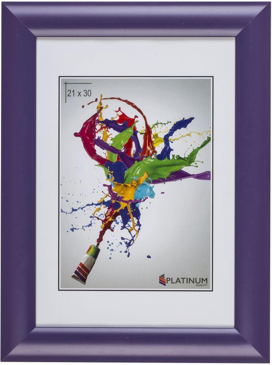 Фоторамка Platinum Аркола, цвет: фиолетовый, 21 x 30 смPlatinum JW2-007-006 АРКОЛА-ФИОЛЕТОВЫЙ 21x30Фоторамка Platinum выполнена в классическом стиле из пластика и стекла,защищающего фотографию. Оборотная сторона рамки оснащенаспециальной ножкой, благодаря которой ее можно поставить на стол или любоедругое место в доме или офисе. Также изделие дополнено двумя специальнымипетлями для подвешивания на стену. Такая фоторамка поможет вам оригинально и стильно дополнить интерьерпомещения, а также позволит сохранить память о дорогих вам людях иинтересных событиях вашей жизни.
