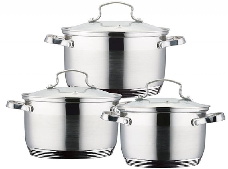 Набор кастрюль Wellberg  Stan , 6 предметов - Посуда для приготовления