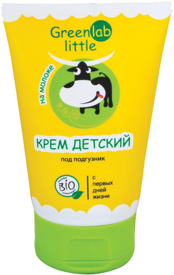 Фото GreenLab Little Крем детский под подгузник на молоке с витамином Е 100 мл
