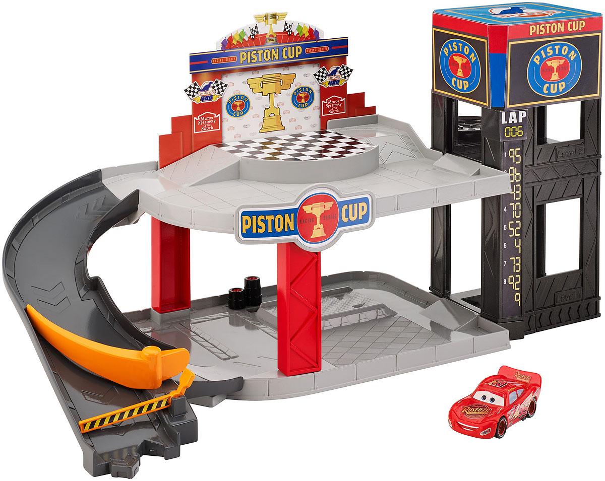 Cars Игровой набор Парковка Piston Race disney pixar cars cars 3 dwb90 lighting mcqueen piston cup race track parking toys birthday christmas gifts for kids cars toys