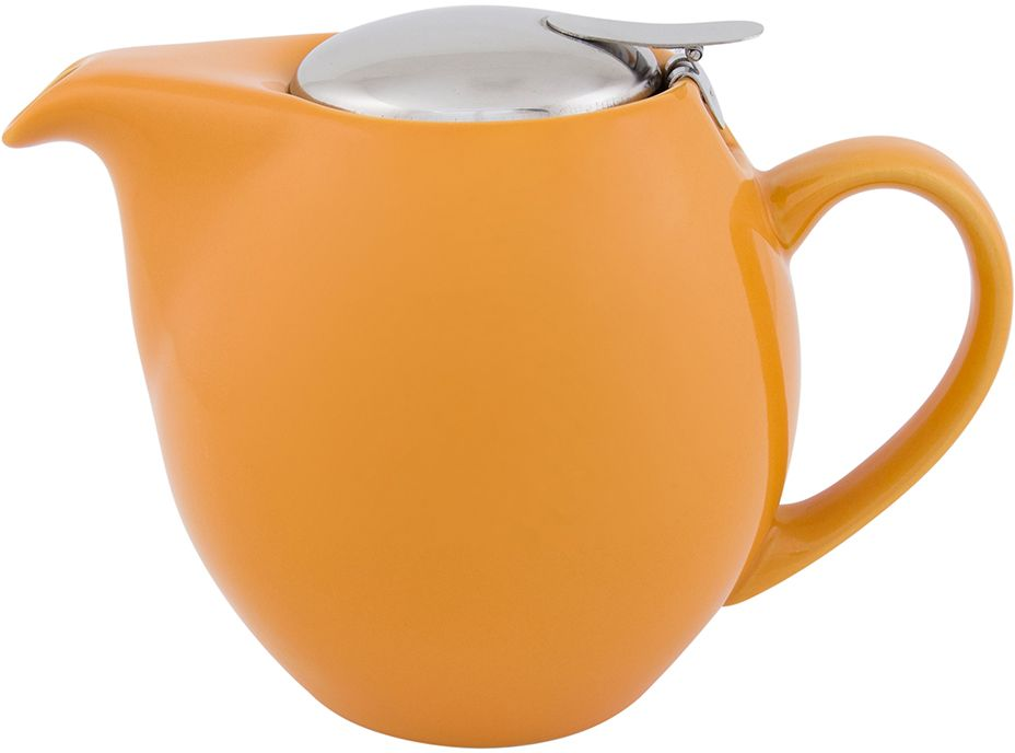 Чайник заварочный Elan Gallery, с крышкой и ситом, цвет: персиковый, 850 мл630009Посуда из керамики - это украшение стола и отличный подарок. Красота и уют вашего дома! Дизайн чайников проработан учитывая все подробности. Все части аккуратно скомбинированы и хорошо дополняют друг друга. Эта модель станет замечательной находкой для себя или презентом родным. Размер чайника: 18,5 х 11,5 х 13 см.Объем чайника: 850 мл.