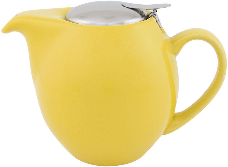 Чайник заварочный Elan Gallery, с крышкой и ситом, цвет: желтый, 850 мл630012Посуда из керамики - это украшение стола и отличный подарок. Красота и уют вашего дома! Дизайн чайников проработан учитывая все подробности. Все части аккуратно скомбинированы и хорошо дополняют друг друга. Эта модель станет замечательной находкой для себя или презентом родным. Размер чайника: 18,5 х 11,5 х 13 см.Объем чайника: 850 мл.