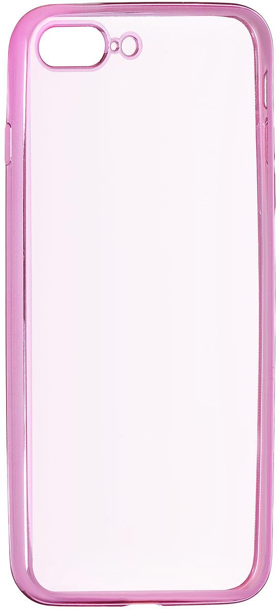 Red Line iBox Blaze чехол для iPhone 7 Plus/8 Plus, PinkУТ000009721Практичный и тонкий силиконовый чехол Red Line iBox Blaze для iPhone 7 Plus с эффектом металлических граней защищает телефон от царапин, ударов и других повреждений. Чехол изготовлен из высококачественного материала, плотно облегает смартфон и имеет все необходимые технологические отверстия, соответствующие модели телефона.Силиконовый чехолRed Line iBox Blaze долгое время сохраняет свою первоначальную форму и не растягивается на смартфоне.
