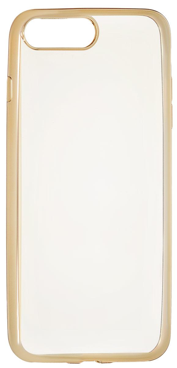 Red Line iBox Blaze чехол для iPhone 7 Plus/8 Plus, GoldУТ000009720Практичный и тонкий силиконовый чехол Red Line iBox Blaze для iPhone 7 Plus с эффектом металлических граней защищает телефон от царапин, ударов и других повреждений. Чехол изготовлен из высококачественного материала, плотно облегает смартфон и имеет все необходимые технологические отверстия, соответствующие модели телефона.Силиконовый чехолRed Line iBox Blaze долгое время сохраняет свою первоначальную форму и не растягивается на смартфоне.