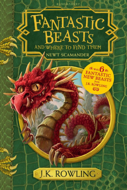 Fantastic Beasts and Where to Find Them: Hogwarts Library Book irresistible