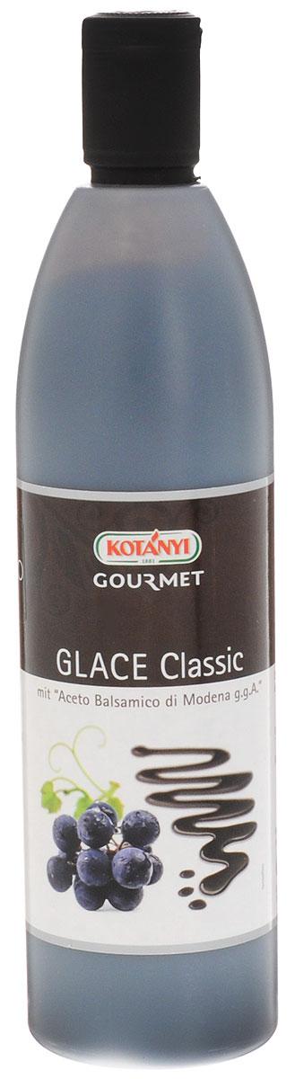 Kotanyi Бальзамический крем-соус классический, 500 мл225901Бальзамический крем-соус классический Kotanyi отлично подходит к салатам, овощам, рыбе, птице, мясу, сыру, фруктам и мороженому.Уважаемые клиенты! Обращаем ваше внимание, что полный перечень состава продукта представлен на дополнительном изображении.