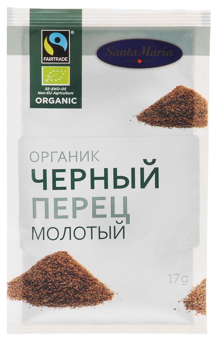 Santa Maria Черный перец молотый Органик, 17 г натуральная молотая корица santa maria 17 гр