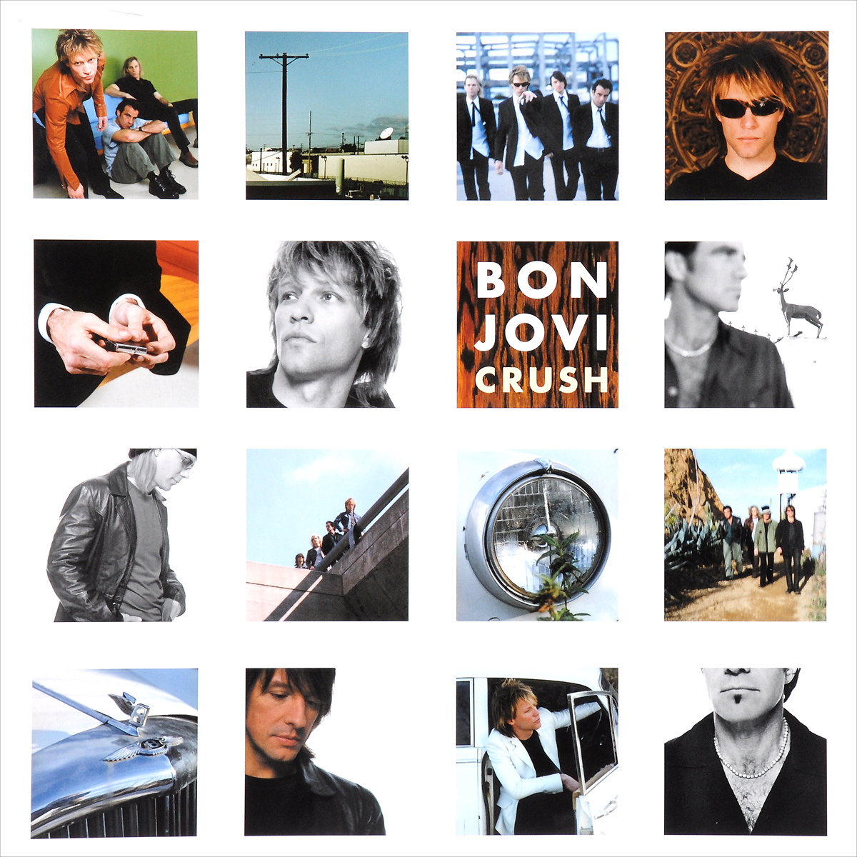 Bon Jovi Bon Jovi. Crush (2 LP) kittop46259unv72220 value kit tops receiving record book top46259 and universal smooth paper clips unv72220