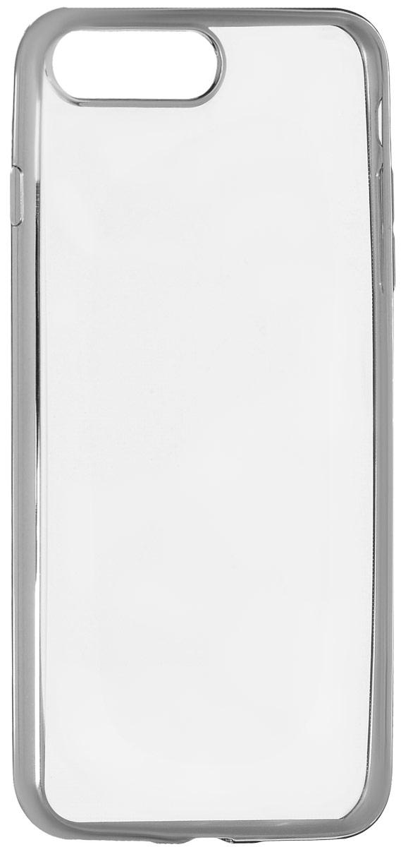 Red Line iBox Blaze чехол для iPhone 7 Plus/8 Plus, SilverУТ000009722Практичный и тонкий силиконовый чехол Red Line iBox Blaze для iPhone 7 Plus с эффектом металлических граней защищает телефон от царапин, ударов и других повреждений. Чехол изготовлен из высококачественного материала, плотно облегает смартфон и имеет все необходимые технологические отверстия, соответствующие модели телефона.Силиконовый чехолRed Line iBox Blaze долгое время сохраняет свою первоначальную форму и не растягивается на смартфоне.