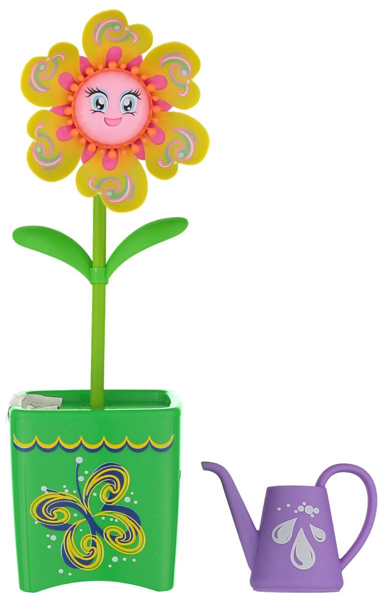Magic Blooms Интерактивная игрушка Волшебный цветок цвет желтый зеленый