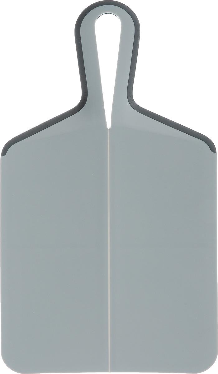 Доска разделочная Zeller, 39 х 21,5 см26137Разделочная доска Zeller, изготовленная из пищевого пластика, займет достойное место среди аксессуаров на вашей кухне. Она прекрасно подойдет для нарезки любых продуктов. Доска устойчива к деформации и высоким температурам, оснащена ручкой для более удобного использования.Функциональная и простая в использовании, разделочная доска Zeller прекрасно впишется в интерьер любой кухни и прослужит вам долгие годы. Не рекомендуется мыть в посудомоечной машине.Размер доски: 39 х 21,5 см.Толщина доски: 0,5 см.