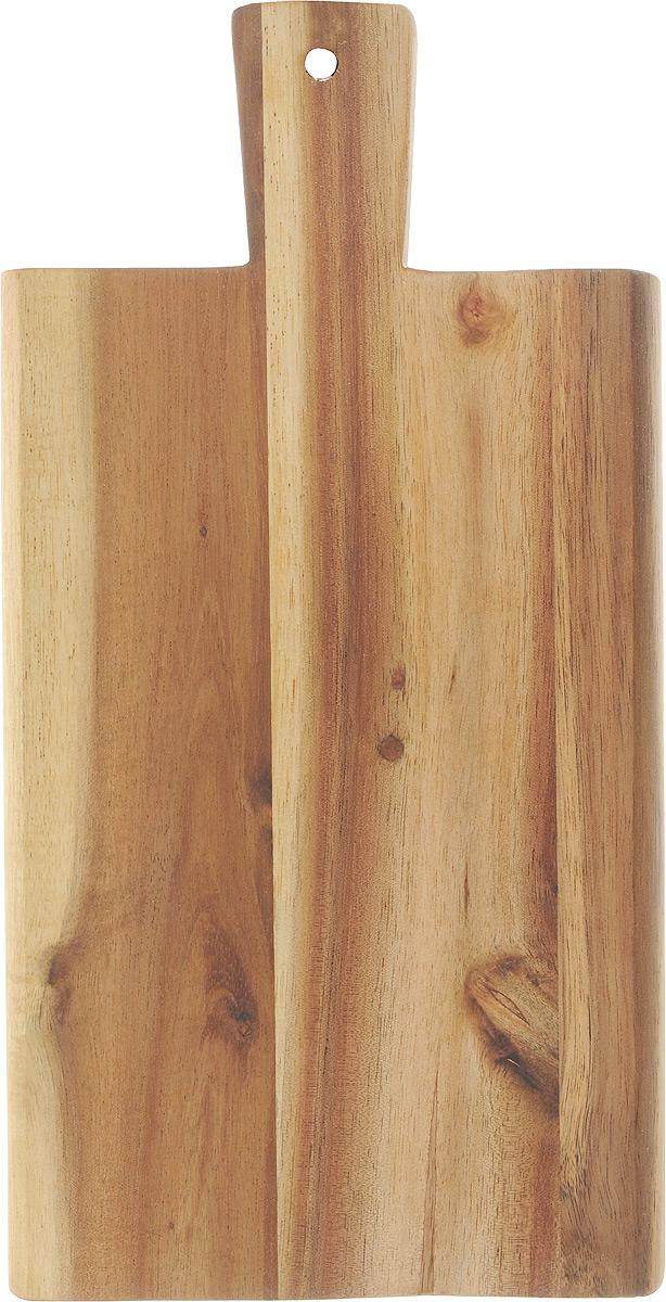 Доска разделочная Kesper, 29 х 14 х 1,5 см2019-0Разделочная доска Kesper изготовлена из дерева акации. Акация считается самым твердым деревом. Поэтому изделия из акации являются прочными. Доска оснащена ручкой для более удобного использования.Функциональная и простая в использовании, разделочная доска Kesper прекрасно впишется в интерьер любой кухни и прослужит вам долгие годы. Размер доски: 29 х 14 см. Толщина доски: 1,5 см.