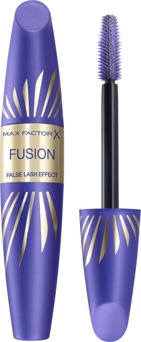 Max Factor Тушь С Эффектом Накладных Ресниц False Lash Effect Fusion Black brown 13,1 мл81524155Тушь MaxFactorFalseLashEffectFusion помогает достичь впечатляющего результата. С помощью этой туши можно удвоить не только объем, но и длину ресниц, сделав глаза более привлекательными.ФормулаНовое сочетание от MaxFactor: культовая щеточка, придающая суперобъем, и инновационная удлиняющая формула с нейлоновыми волокнами. Не скатывается и не смазывается, поэтому ты можешь быть уверена, что выглядишь великолепно. Тушь подходит тем, кто носит контактные линзы, легко смывается. Можно использовать для естественного повседневного макияжа.