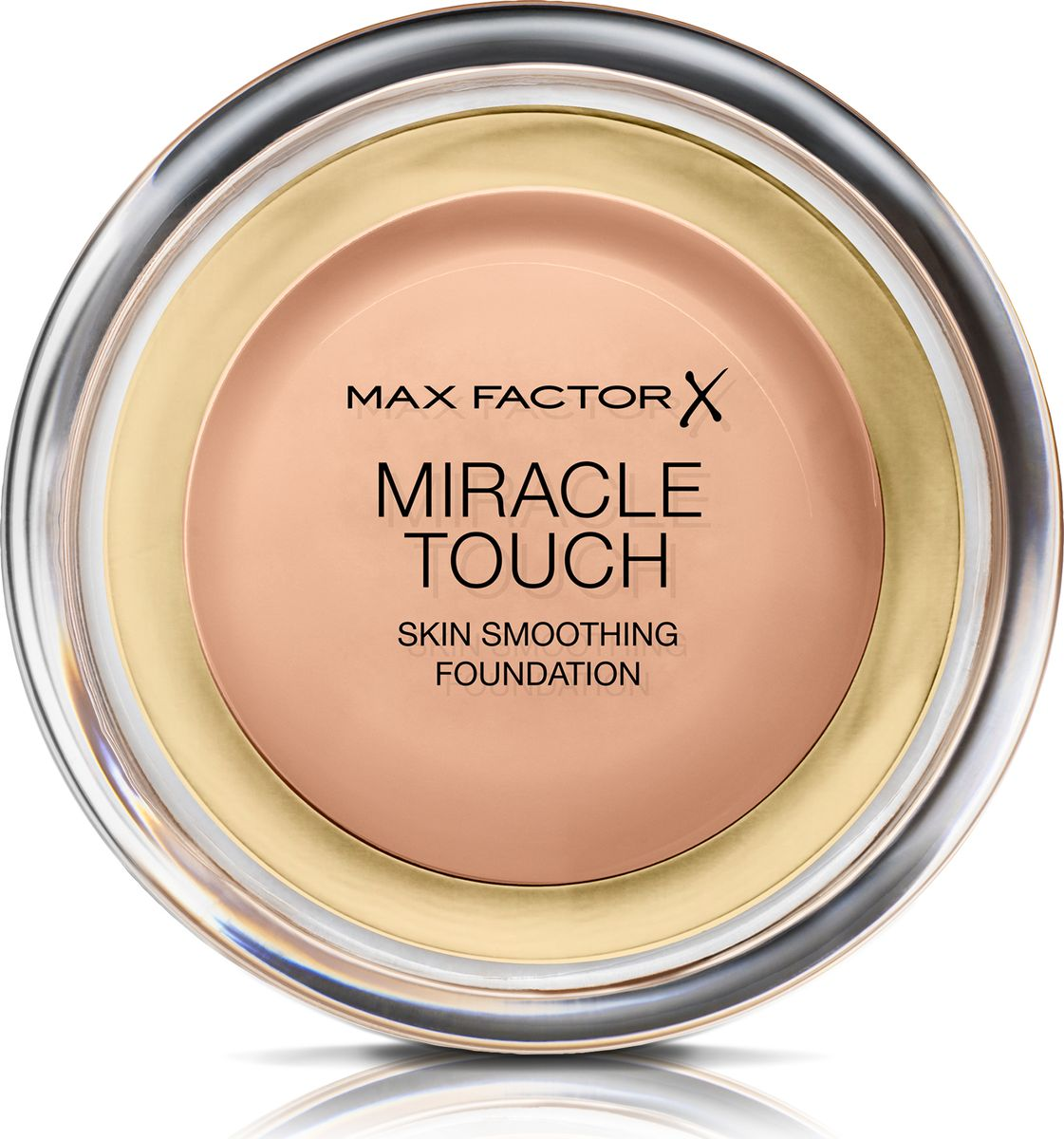 Max Factor Тональная Основа Miracle Touch Тон 70 natural 11,5 гр81062Уникальная универсальная тональная основа MaxFactorMiracleTouch обладает кремообразной формулой, благодаря которой превосходно подготовить кожу для макияжа очень легко. Всего один слой без необходимости нанесения консилера или пудры. Легкая твердая тональная основа тает в руках и гладко наносится на кожу, создавая идеальное, безупречно блестящее и равномерное покрытие, не слишком прозрачное и не слишком плотное. В результате кожа выглядит свежей, необычайно ровной и приобретает сияние. Чтобы создать безупречное покрытие, можно нанести всего один легкий слой тональной основы или же сделать покрытие более плотным благодаря специальной формуле. Тональная основа подходит для всех типов кожи, включая чувствительную кожу, и не вызывает угревой сыпи, так как не закупоривает поры. Спонж в комплекте для простого и аккуратного нанесения где угодно.Идеальное покрытие в один слой- консилер и пудра не нужны. Умеренное или плотное покрытие благодаря специальной формуле. Не вызывает угревую сыпь и не закупоривает поры. Дерматологически протестировано, подходит для чувствительной кожи.Удобная компактная форма, которую легко держать в руках, со спонжем для быстрого и простого нанесения. Идеальный оттенок должен соответствовать тону кожи на линии подбородка. Для получения наиболее профессионального результата с помощью спонжа, входящего в комплект, нанеси тональную основу MiracleTouchLiquidIllusion и распредели ее от центра лица к краям. Чтобы скрыть темные круги и недостатки кожи, наноси основу краем спонжа. Всегда наноси продукт при ярком дневном освещении.