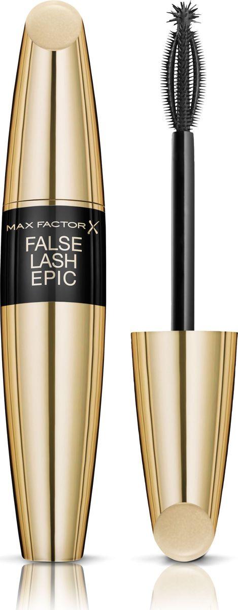 Max Factor Тушь С Эффектом Накладных Ресниц False Lash Effect Epic Black brown 13,1 мл max factor карандаш для глаз liquid effect pencil тон 05 brown blaze цвет коричневый