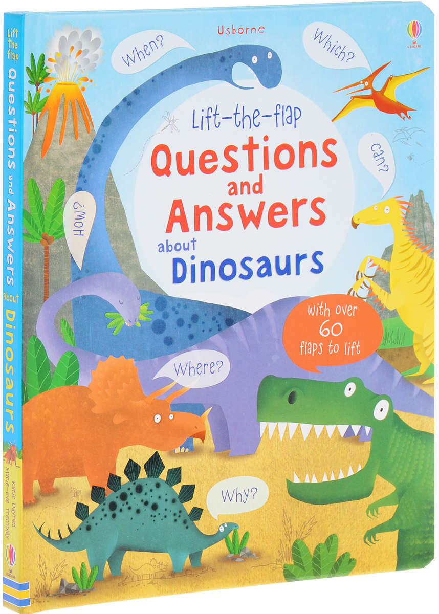 Lift-the-Flap Questions and Answers About Dinosaurs supermarket gremlins lift the flaps book