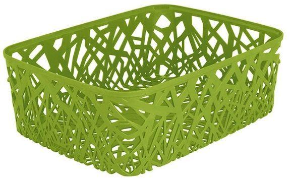 Корзина универсальная Curver Neo Colors, цвет: зеленый, 37,7 x 29 x 12,7 см04161-598-03Универсальная корзина Curver Neo Colors изготовлена извысококачественного пластика. Стенки и дно изделия оформлены изящной перфорацией. Корзина предназначена для хранения различных предметов в ванной, на кухне, на даче или в гараже. Позволяет хранить мелкие вещи, исключая возможность их потери.