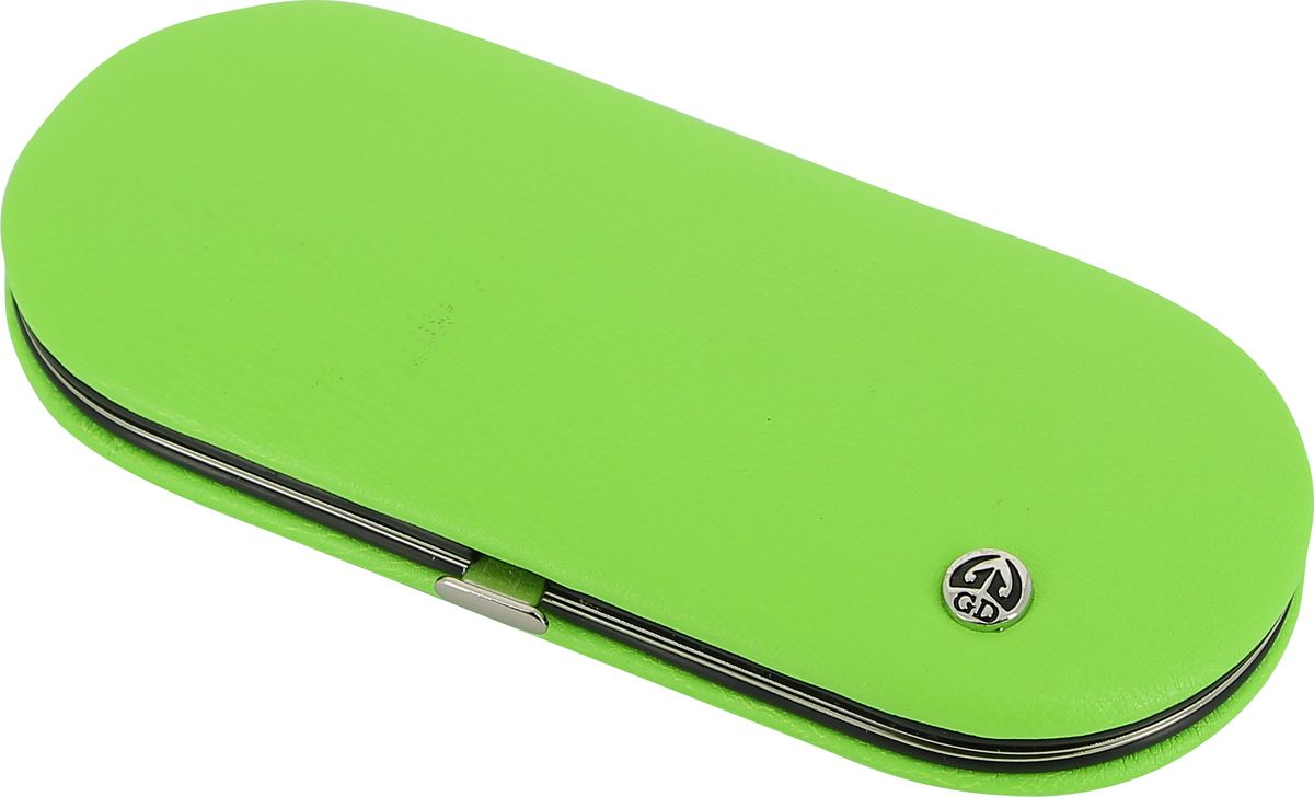GDМаникюрный набор, цвет:  зеленый, 5 предметов
