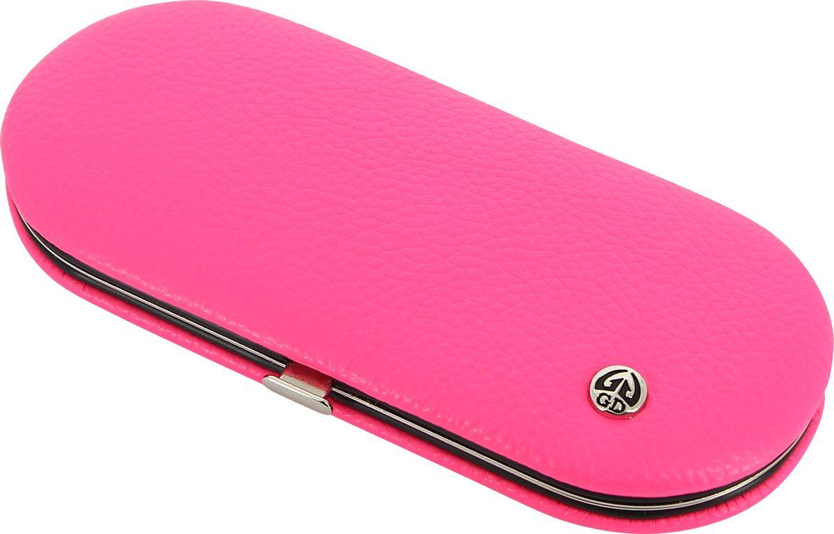 GDМаникюрный набор, цвет:  розовый, 5 предметов + подарок Accentra Snowfall Пена для ванны