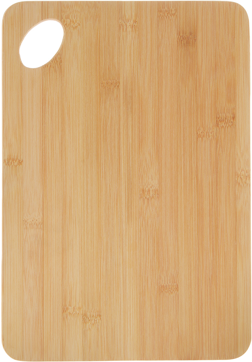 Доска разделочная Kesper, 35 х 24 х 0,8 см5133-0Доска разделочная Kesper выполнена из натурального бамбука - прочного, практичного, удобного материала. Природная жесткость бамбука позволяет делать из него очень прочные изделия, которые превосходно сохраняют свою форму. Бамбук обладает сильнейшими антимикробными свойствами, поэтому изделия из него являются влагостойкими, не впитывают посторонних запахов, не боятся сырости, их легко мыть. Не рекомендуется мыть в посудомоечной машине.