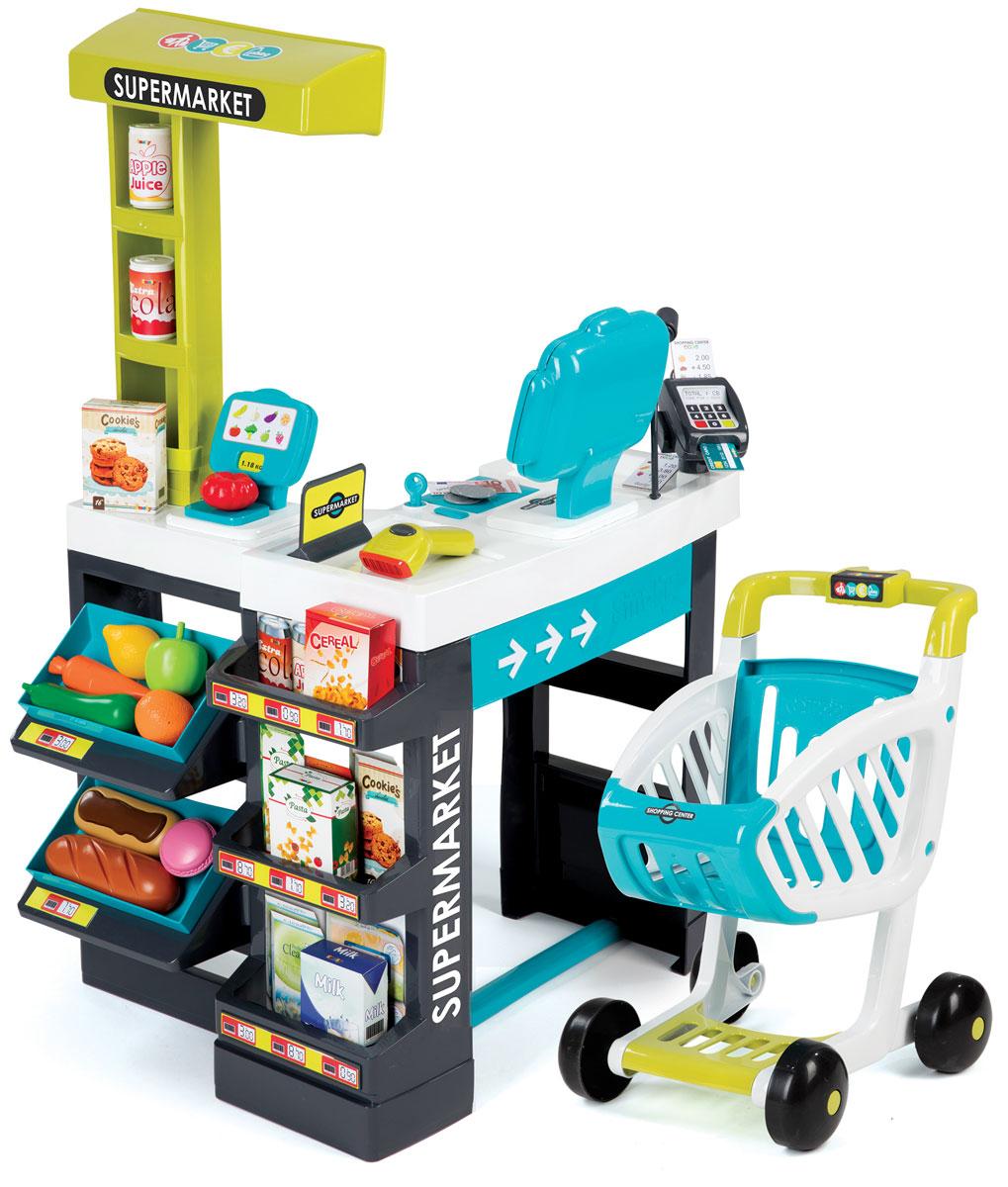Smoby Игровой набор Супермаркет smoby детская горка king size цвет красный