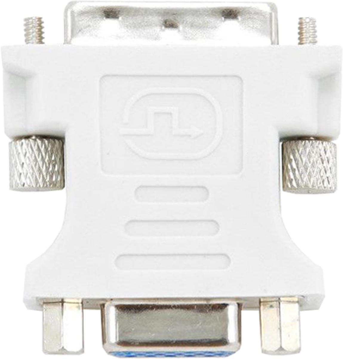 Cablexpert адаптер DVI-VGAA-DVI-VGAАдаптер-переходник Cablexpertпозволяет подключить устройства с интерфейсом VGA к видеокартам с разъемом DVI-I. Переходник изготавливается из современных практичных материалов. Перед использованием изделие не нужно дорабатывать.