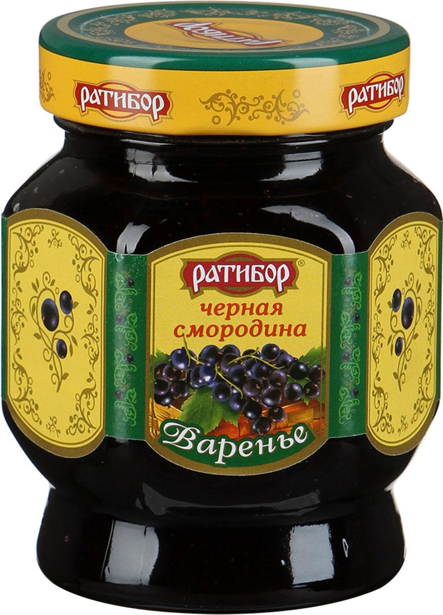 Ратибор варенье Черная смородина, 400 г лукашинские варенье черная смородина 450 г