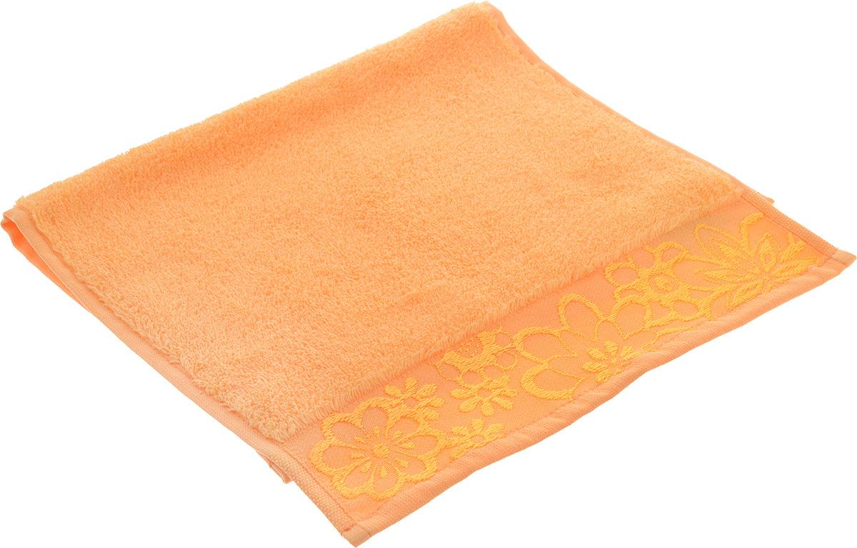 Полотенце Hobby Home Collection Dora, цвет: светло-оранжевый, 30 х 50 см1501001202Махровое полотенце Hobby Home Collection Dora выполнено из100% хлопка. Изделие отлично впитывает влагу, быстро сохнет,сохраняет яркость цвета и не теряет форму даже послемногократных стирок.Такое полотенце очень практично и неприхотливо в уходе.Оно украсит интерьер в ванной комнате, а также подаритощущение заботливой нежности и удивительного комфорта.