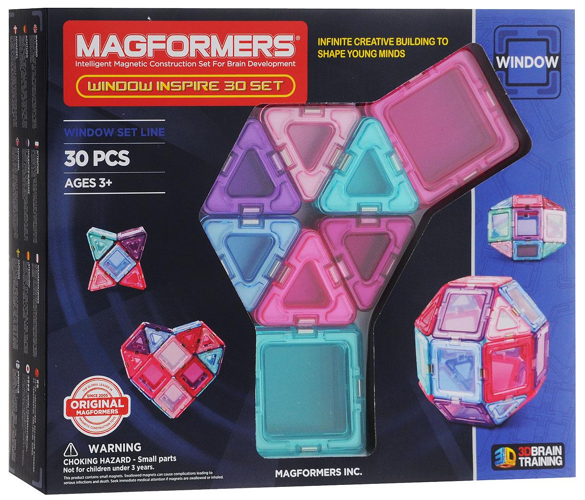 Magformers Магнитный конструктор Window Inspire Set 30 велотренажер inspire ic1