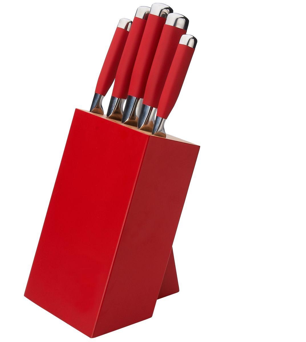 """Компания """"Gipfel"""" использует для производства кухонных ножей высокоуглеродистую легированную нержавеющую сталь (с повышенным содержанием углерода). Ножи из высокоуглеродистой нержавеющей стали относятся к ножам более высокого класса. Эти ножи сочетают в себе все самые лучшие свойства углеродистой и нержавеющей стали. Высокое содержание углерода способствует долгому сохранению заточки, а нержавеющая сталь обеспечивает устойчивость к коррозии и пятнообразованию. Ножи из высокоуглеродистой стали имеют в составе сплава дополнительные элементы, например, молибден, ванадий. Их наличие способствует увеличению твёрдости, времени сохранения заточки и режущей способности. Для производства кухонных ножей """"Gipfel"""" используются две разновидности высокоуглеродистой стали - X30Cr13 и X50CrMoV15. Благодаря технологиям ножи """"Gipfel"""" прекрасно держат заточку, не ржавеют, очень прочны и легки в использовании и уходе."""