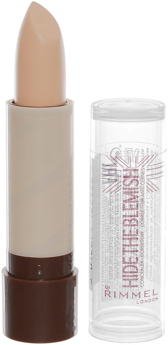 Rimmel Корректирующий карандаш Hide The Blemish, тон № 103, 4,5 г34776203103Кремовая текстура для легкого нанесения на кожу. Маскирует покраснения и несовершенства кожи. Можно использовать как базу под тени для большей стойкости и насыщенности цвета.