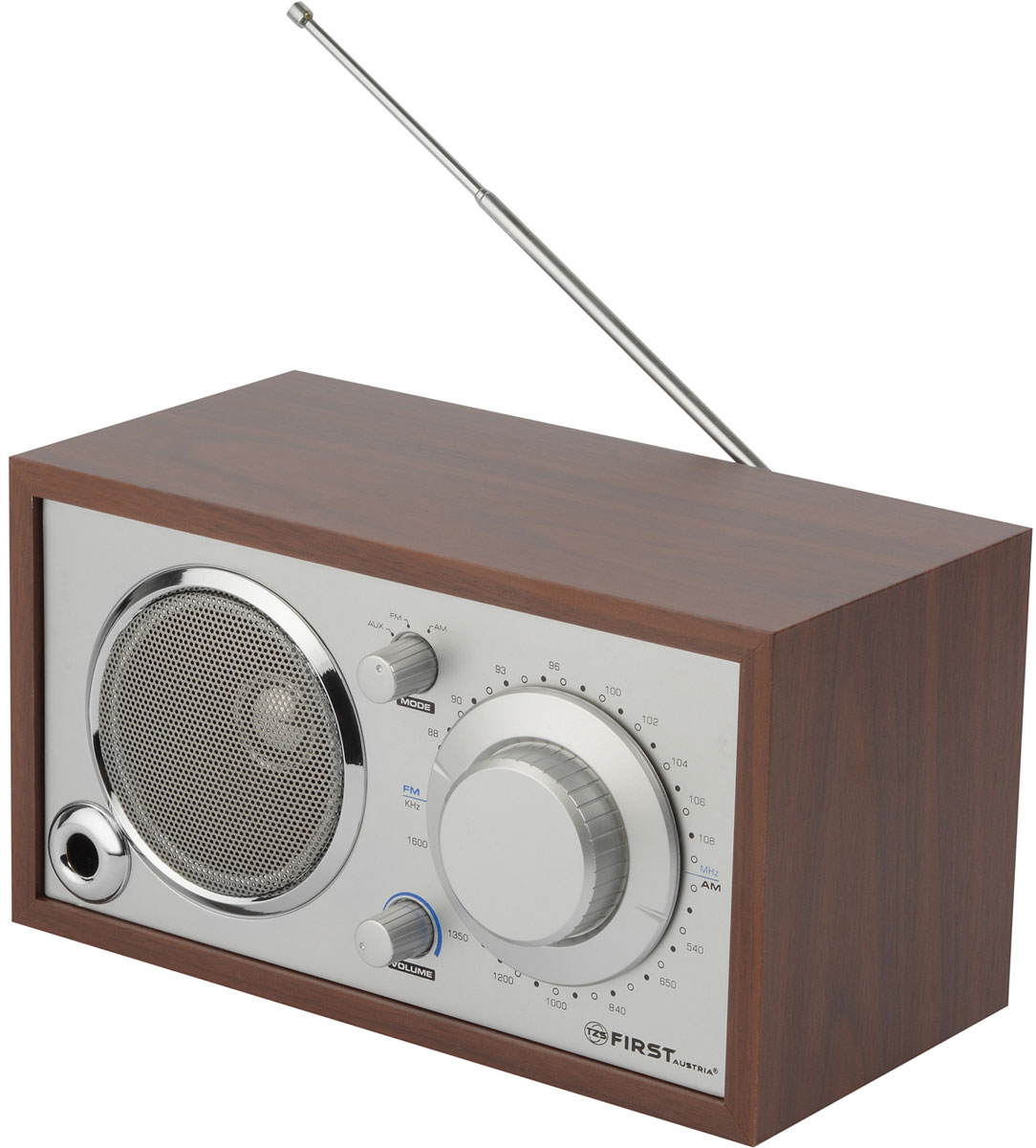 First FA-1907, Silver Wood радиоприемник
