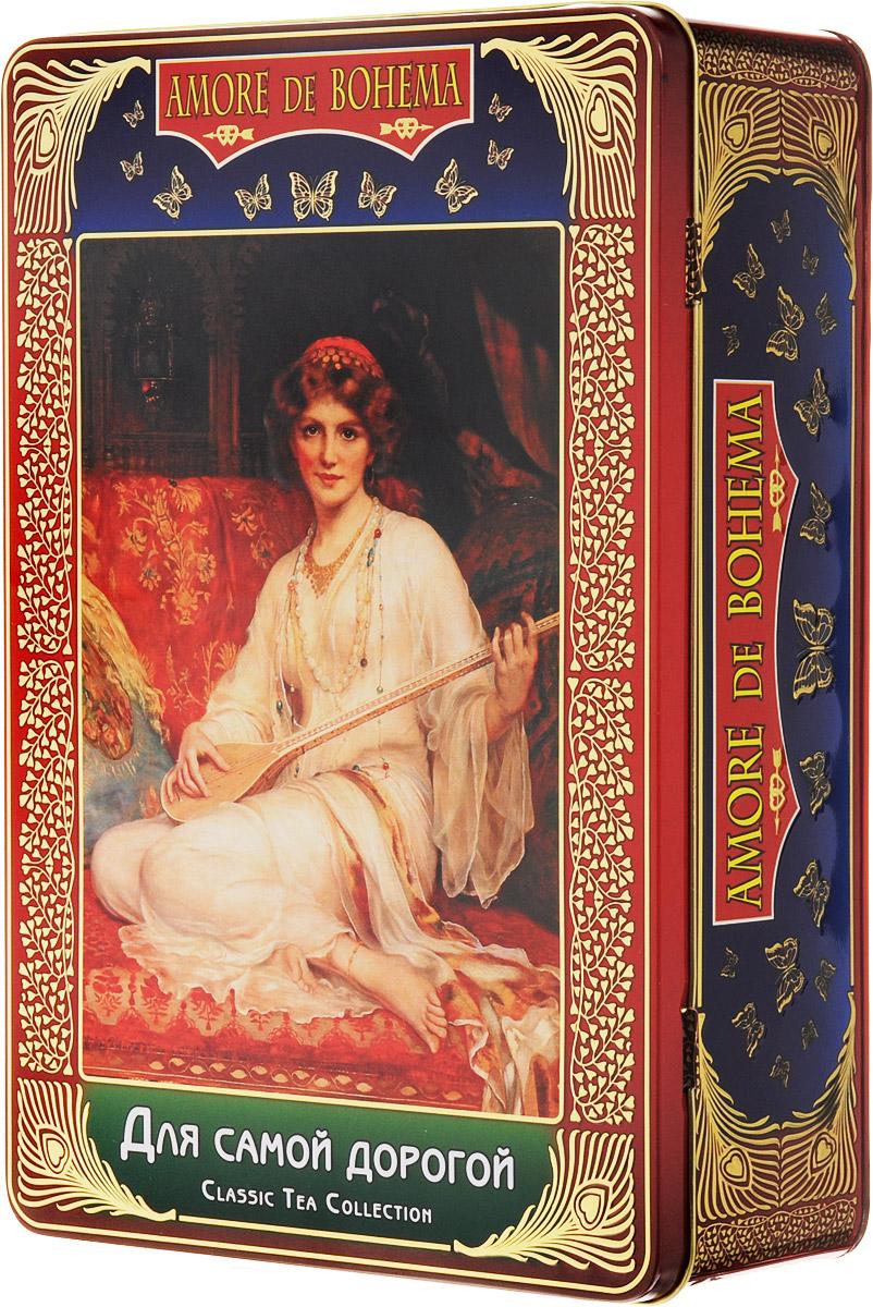 Amore de Bohema Для самой дорогой подарочный набор листового чая, 400 г цена и фото