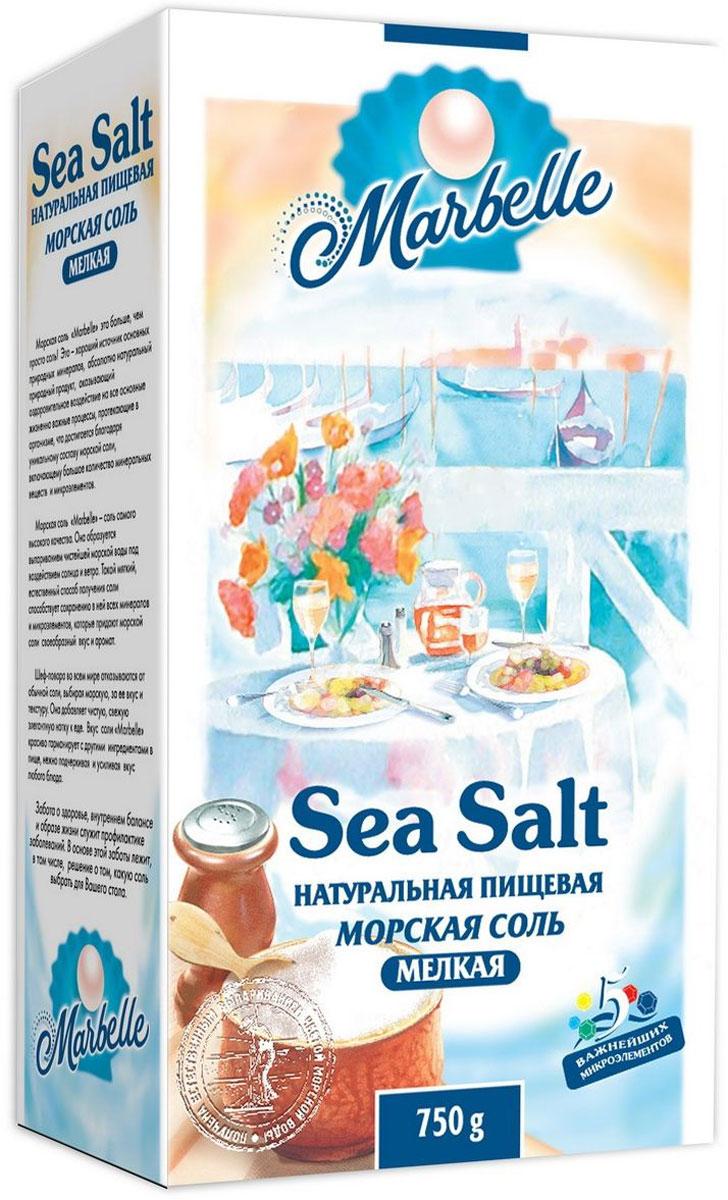 Marbelle соль морская пищевая мелкая, 750 г3752Морская соль образуется под выпариванием чистейшей морской воды под воздействием солнца и ветра. Такой естественный способ получения соли способствует сохранению в ней всех минералов и микроэлементов. Улучшает обменные процессы, оказывает тонизирующее воздействие, приятнее и мягче на вкус, чем обычная поваренная соль. Создана для приготовления домашней пищи, для консервации, засолки рыбы, гармонирует с другими ингредиентами в пище, нежно подчеркивая и усиливая вкус любого блюда.
